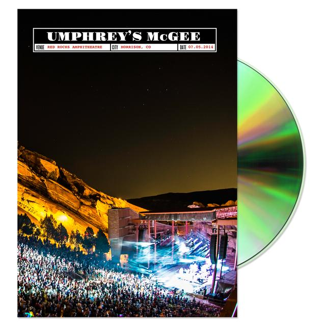 Umphrey's Mcgee UMerica, On The Rocks DVD/Blu-ray