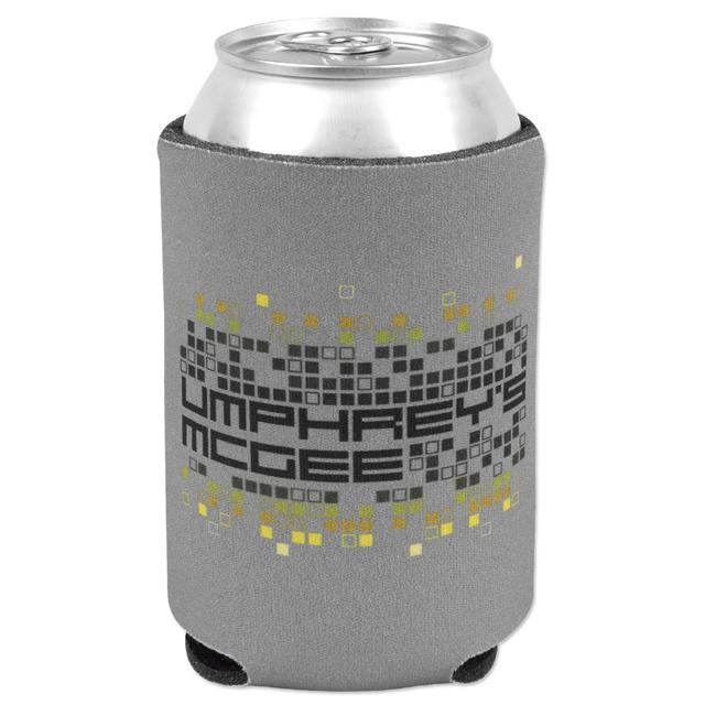 Umphrey's Mcgee Pixelated Koozie - Charcoal Gray