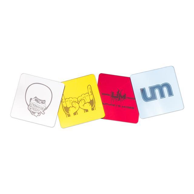 Umphrey's Mcgee umVIP metallic coasters