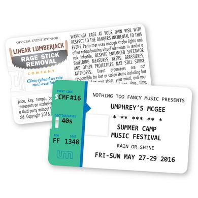 Umphrey's Mcgee Summer Camp 2016 USB