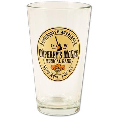 Umphrey's McGee- Pint Glass - Beer Label Logo