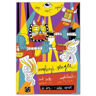 Umphrey's Mcgee UM Red Rocks 2013 Poster