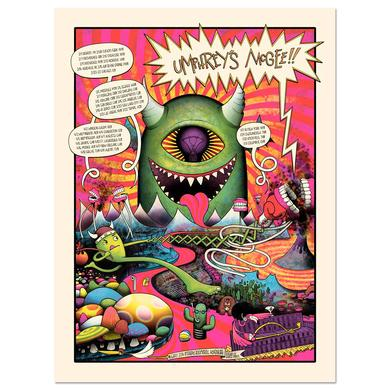 Umphrey's Mcgee UM Early 2014 Tour Print
