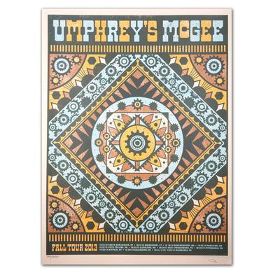 Umphrey's Mcgee Fall 2013 Tour Print