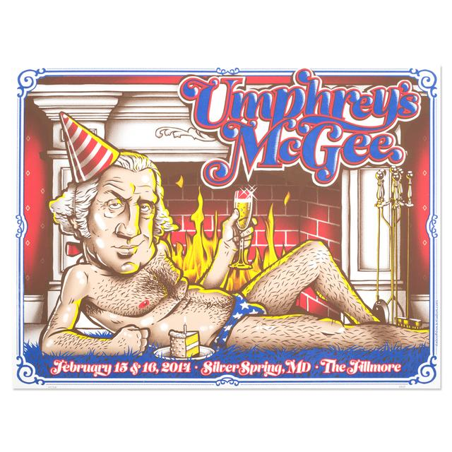 Umphrey's Mcgee UM Silver Spring 2014 Poster