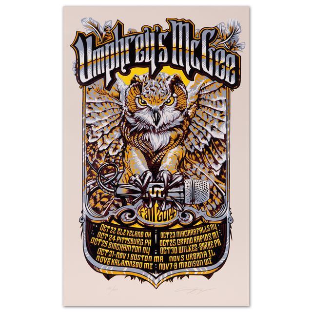 Umphrey's Mcgee UM 2014 Fall Tour Poster