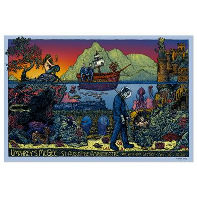 Umphrey's Mcgee David Welker St. Augustine Poster