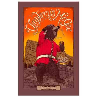 Umphrey's Mcgee Red Rocks 2015 Poster Variant - Online Exclusive