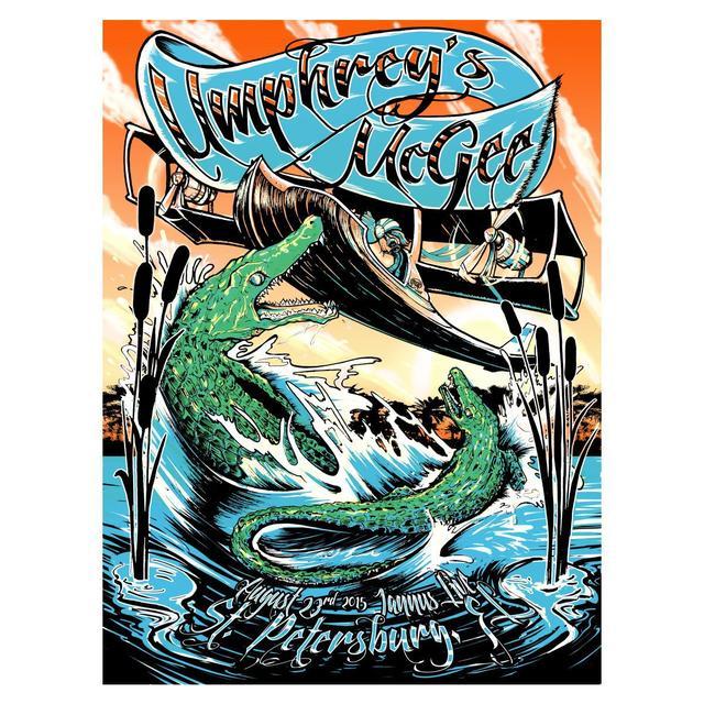 Umphrey's Mcgee UM St. Petersburg Poster