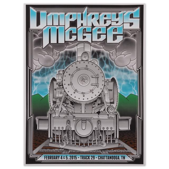 Umphrey's Mcgee Chattanooga 2015 Print by John Warner Studios