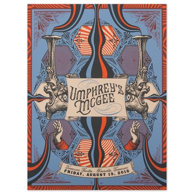 Umphrey's Mcgee Tennessee Theatre 2016 Print by Status Serigraph