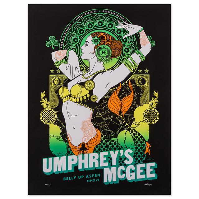 Umphrey's Mcgee Aspen 2016 Print by Scrojo