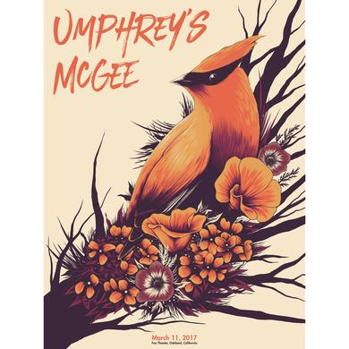 Umphrey's Mcgee Arno Kiss Oakland Poster Pre-Order