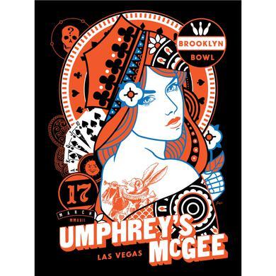 Umphrey's Mcgee Scrojo Brooklyn Bowl Las Vegas Poster