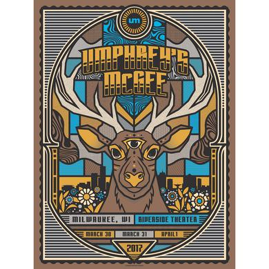Umphrey's Mcgee Milwaukee poster by Subject Matter Studio