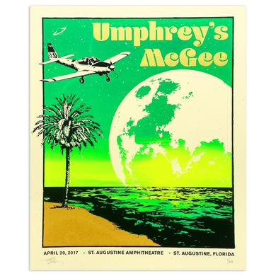 Umphrey's Mcgee St. Augustine Poster by T. Shaw Designs