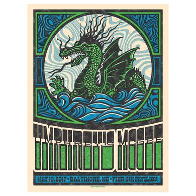 Umphrey's Mcgee Pier Six Pavilion Baltimore Poster by Subject Matter Studio