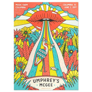 Umphrey's Mcgee Music Farm Columbia Poster by The Half and Half