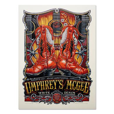 Umphrey's Mcgee Nashville Poster by Masthay Studios