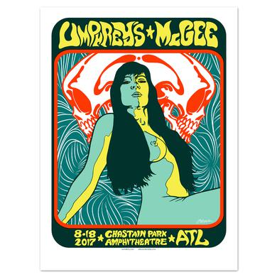 Umphrey's Mcgee Atlanta Poster by Jermaine Rogers