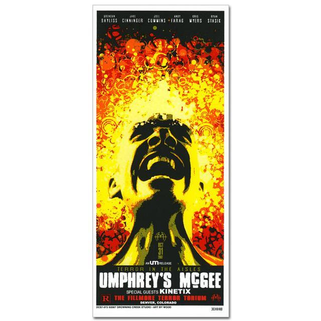 Umphrey's McGee- Jeff Wood Halloween 2007 Handbill