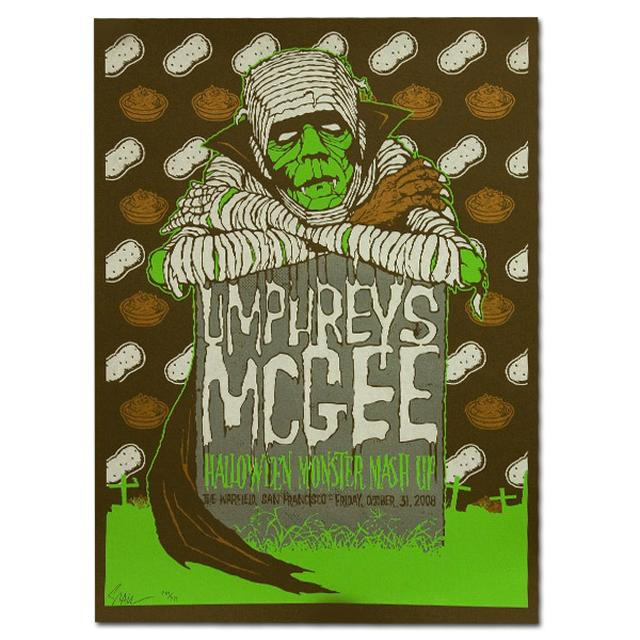 Umphrey's McGee Halloween 2008 Warfield Print
