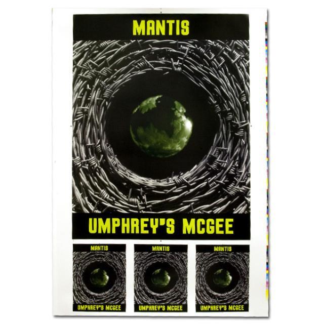 Umphrey's McGee- Mantis Uncut Lithograph