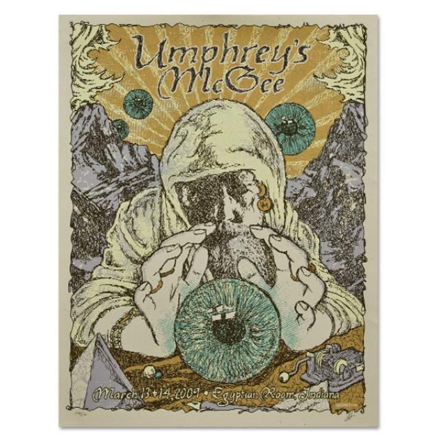 Umphrey's McGee 2009 Murat Theatre Poster