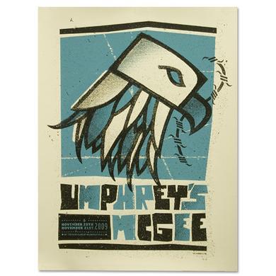 Umphrey's Mcgee 11/20 - 11/21/09 Washington, DC Event Poster