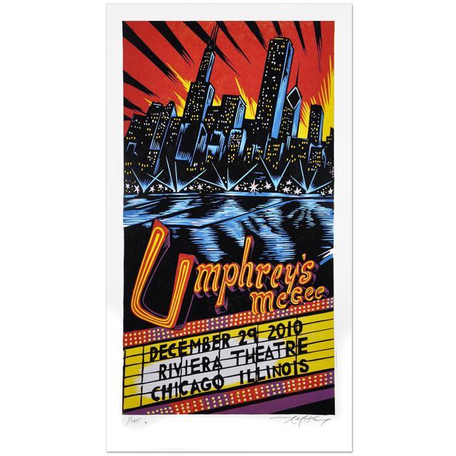Umphrey's Mcgee 12/29/10 AJ Masthay Triptych Poster