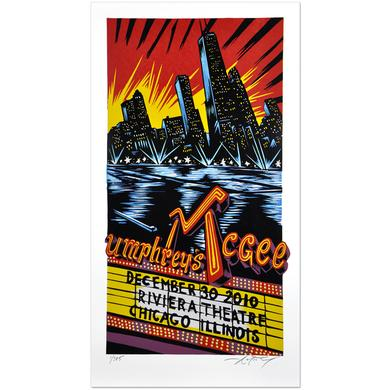 Umphrey's Mcgee 12/30/10 AJ Masthay Triptych Poster
