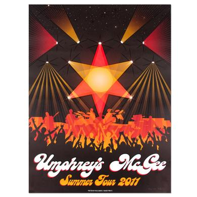 Umphrey's Mcgee Summer Tour Poster