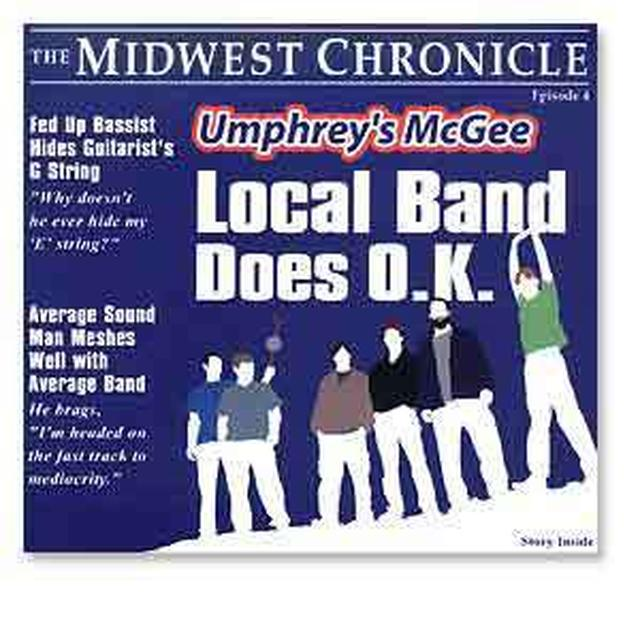 Umphrey's McGee- Local Band Does O.K. - CD