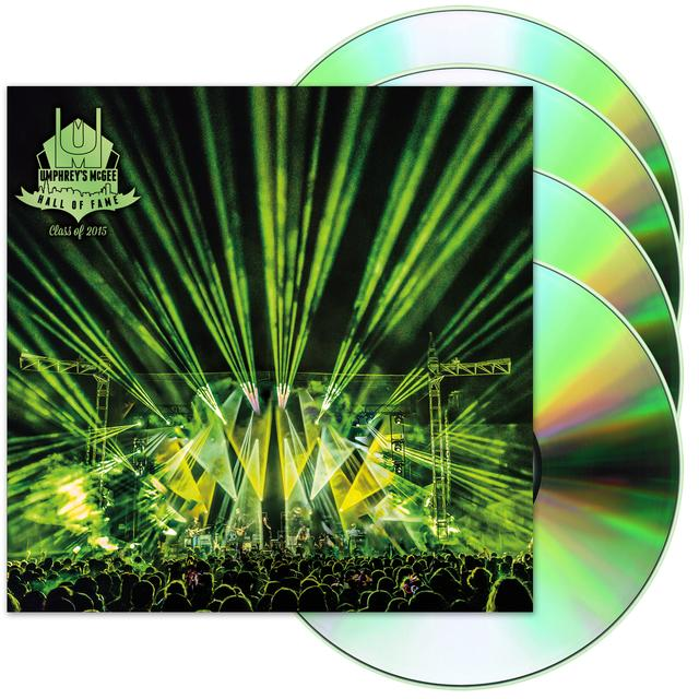 Umphrey's Mcgee Hall of Fame: Class of 2015 CD (4-Disk Set)