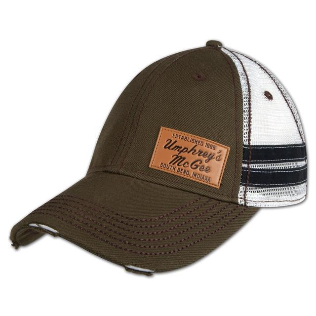 Umphrey's Mcgee UM Leather Patch Cap