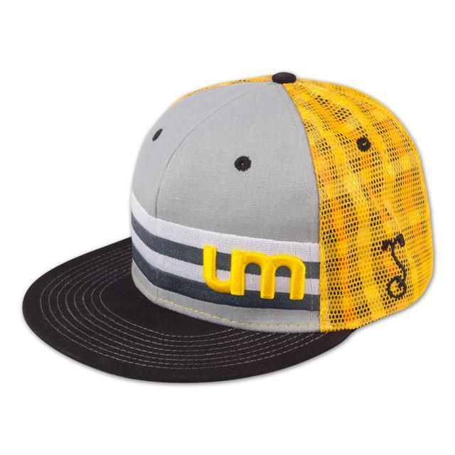 Umphrey's Mcgee UM Grassroots Hat - Black/Yellow