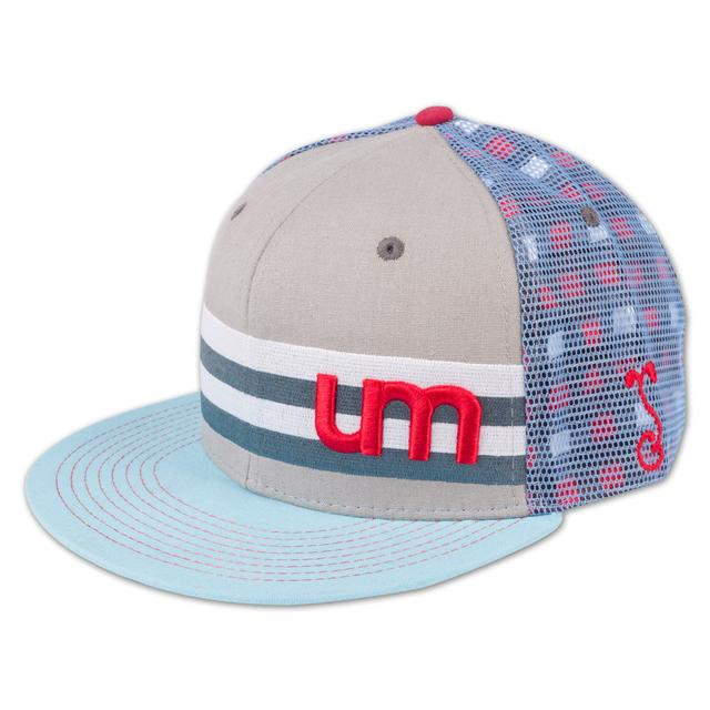 Umphrey's Mcgee UM Grassroots Hat - Light Blue/Grey
