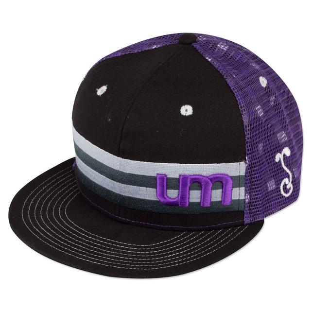 Umphrey's Mcgee UM Grassroots Hat - Black/Purple