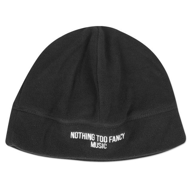 Umphrey's Mcgee UM Black Fleece Beanie with Nothing Too Fancy Music Logo