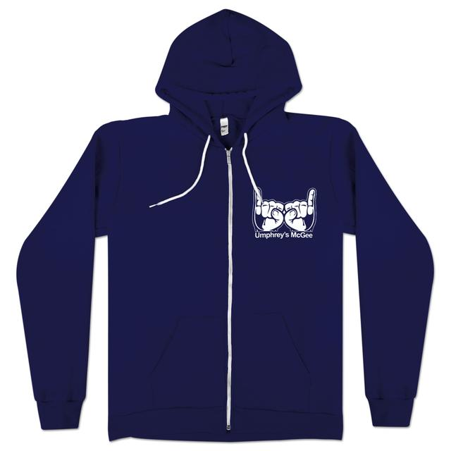 Umphrey's Mcgee Rockhands Zip-up Hoody