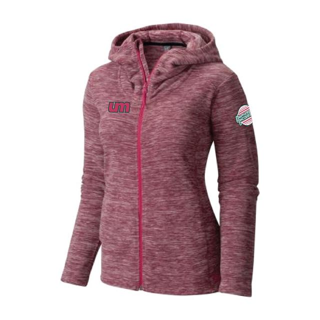 Umphrey's Mcgee Women's Snowpass Fleece Full Zip Hood