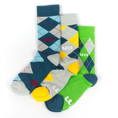 Umphrey's Mcgee UM Argyle Socks