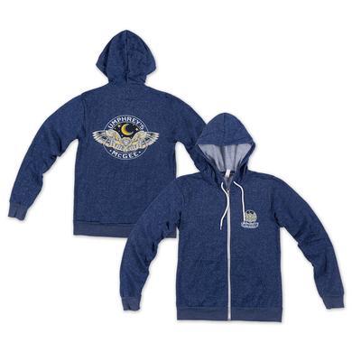 Umphrey's Mcgee Speckled Blue Owl Hoodie