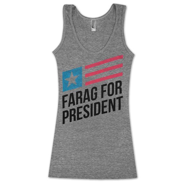 Umphrey's Mcgee Farag For President Unisex Tank