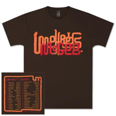 Umphrey's Mcgee UM 2013 Early Tour Tee