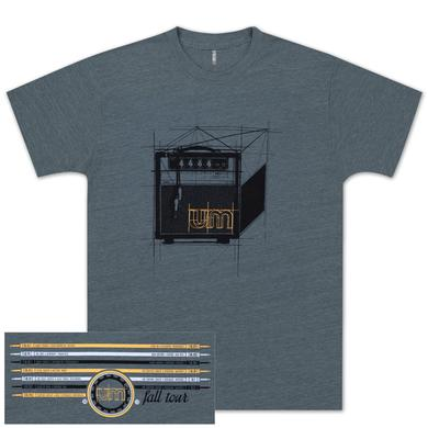 Umphrey's Mcgee UM Amp it Up Tour Tee