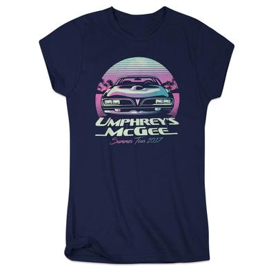 Umphrey's Mcgee Ladies Summer Road Racer Tee