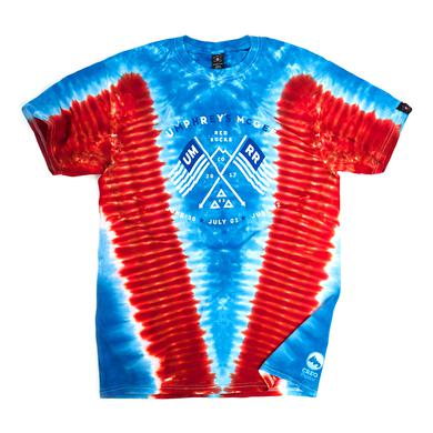 Umphrey's Mcgee Red Rocks 2017 Tie-Dye Shirt