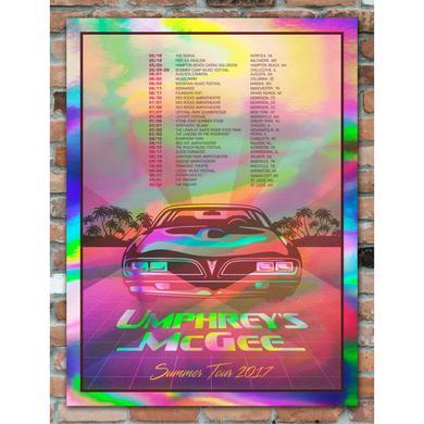 Umphrey's Mcgee 2017 Summer Tour Poster