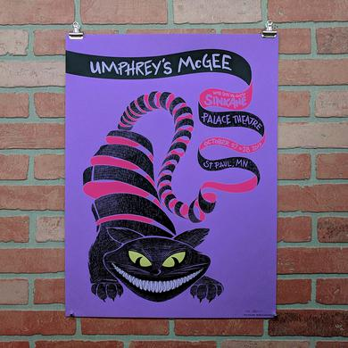 Umphrey's Mcgee Halloween Poster by Baker Prints